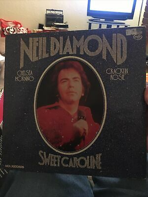 Neil Diamond, Sweet Caroline - Rock, Pop Compilation Vinyl LP Record (MFP 50449) • 2£