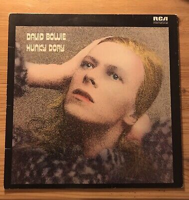 David Bowie Hunky Dory Vinyl LP 1980 Press Great Condition! • 5.50£