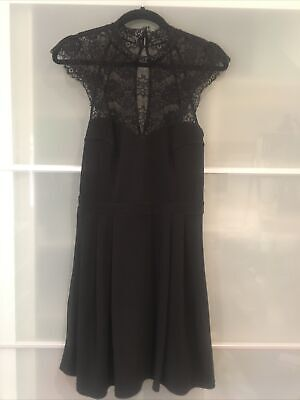 AU35 • Buy Forever New Lace Dress Black Size 12