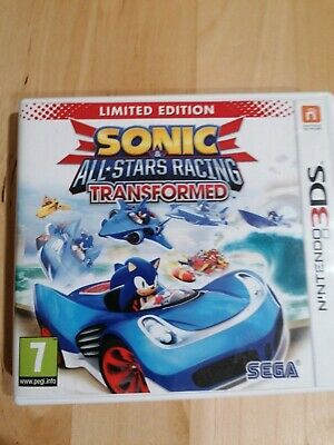 Sonic & All Stars Racing Transformed - 3DS • 2.20£