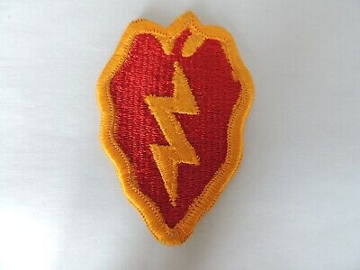 US Army 25th Infantry Corps Formation Insignia Tropical Lightning Badge Patch • 1.55£