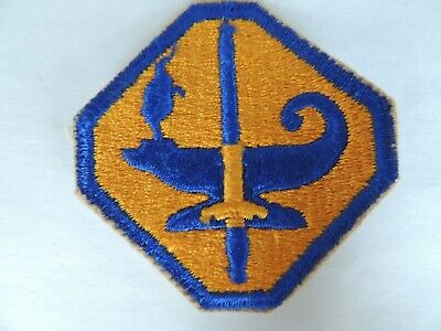 US ASTP Army Specialised Training Program Insignia Badge Patch • 1.65£