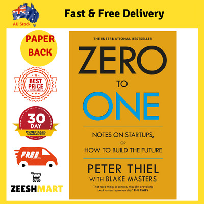 AU22.90 • Buy Zero To One Notes On Startups By Peter Thiel & Blake Masters (Paperback)