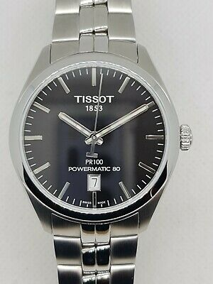 Tissot PR100 Powermatic 80 Automatic Watch, Hardly Worn. RRP £515 T1014071105100 • 350£