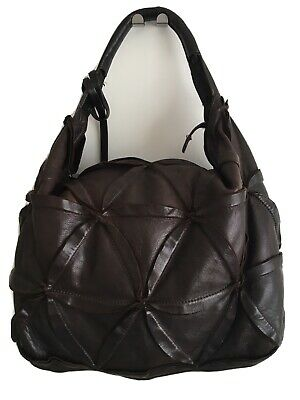 Beautiful Coccinelle Dark Brown Leather Bag RRP Was £300 Barely Used • 35£