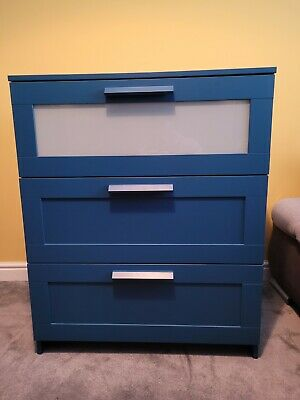 Chest Of Drawers Ikea BRIMNES In Excellent Condition   • 40£