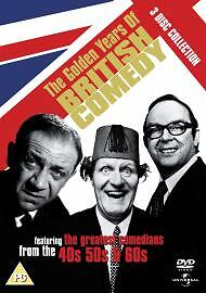 The Golden Years Of British Comedy:The 40s, 50s & 60s DVD (2005) Tommy Cooper... • 0.99£
