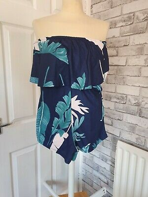 Strapless BNWOT Playsuit Size S Holiday Beach Pool Summer Sz 8 • 4£