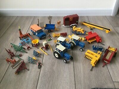 Britain's Ltd Farm Machinery And 3 Ford Tractors  • 41£