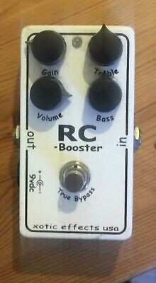 Xotic Rc Booster • 100£