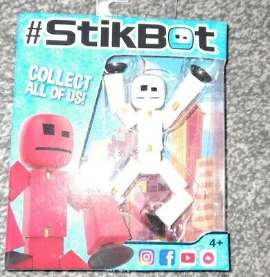Stikbot Figure White Brand New In Box • 8£