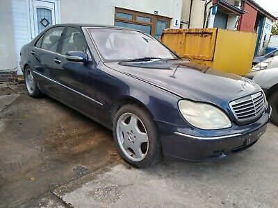 Mercedes S500 V8 Lwb.runs Drives Project Been Laid Up. Has LPG Fitted • 995£