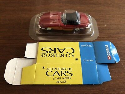 Corgi 1:43 Jaguar E-Type 'A Century Of Cars' Collection NEW WITH BOX Solido • 18.50£