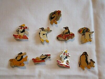McVities Penguin Pin Badges - Complete Set • 4.99£