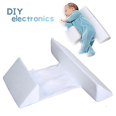 £7.70 • Buy Adjustable Baby Side Sleep Pillow Support Wedge Infant Anti-roll Cushion US