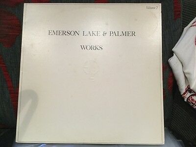Emerson Lake And Palmer LP  Works  (Part 2) • 4.99£