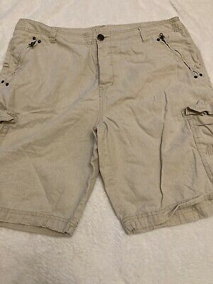 Mens Mans Airwalk Beige Shorts Size L Large. • 1£