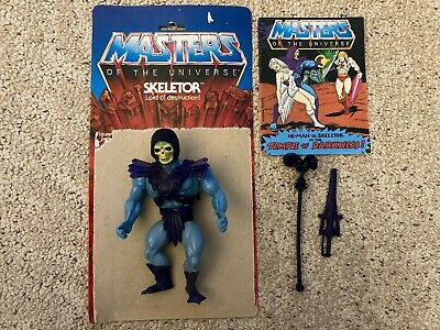$27 • Buy 1983 He-Man Masters Of The Universe Skeletor Action Figure Complete With Comic