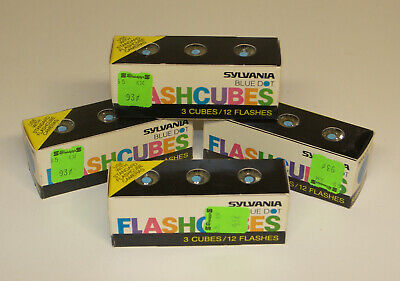 $7.68 • Buy Lot_107 Flashbulbs 48 Flashbulbs In 12 Flashcubes All Unused Flash Cubes 276