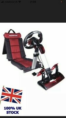 Gamester Gaming Racing Seat / Chair PS2 XBOX PC - Folds Up (CAS) • 15£