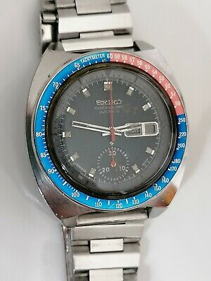 $ CDN44.51 • Buy Vintage Seiko 6139-6002 Chronograph Automatic Watch- Men's - 1970's