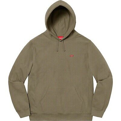 $ CDN280.55 • Buy Supreme Small Box Logo Olive Hoodie Large