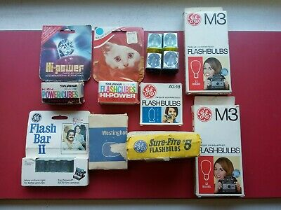 $20 • Buy Lot Of Vintage Camera Equipment◾*Flash Cubes Magicubes Flashbulbs*