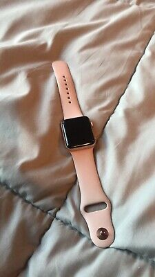 $ CDN63.58 • Buy Apple Watch Series 3 - Rose Gold With Pink Sand Sport Band (GPS + Cellular) READ