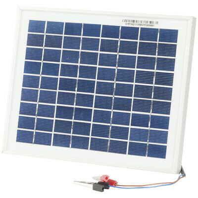 AU24.95 • Buy 12V 5W Solar Panel With Clips
