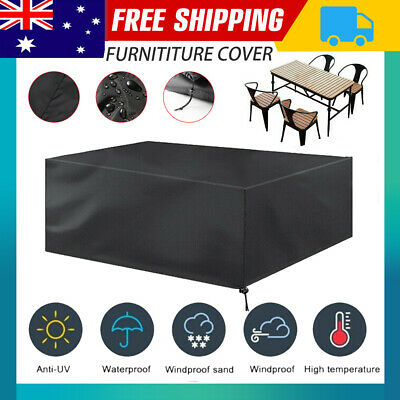 AU15.76 • Buy Waterproof Outdoor Furniture Cover Yard UV Garden Table Chair Shelter Protector