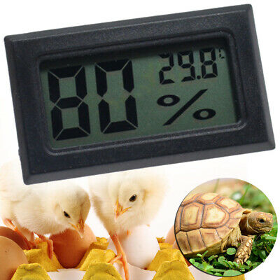 £1.99 • Buy Digital Incubator Humidity Meter Thermometer For Egg Hatching Chicks