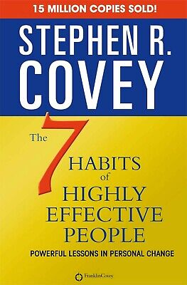 AU27.95 • Buy NEW The 7 Habits Of Highly Effective People Paperback Book Seven Habit FREE SHIP