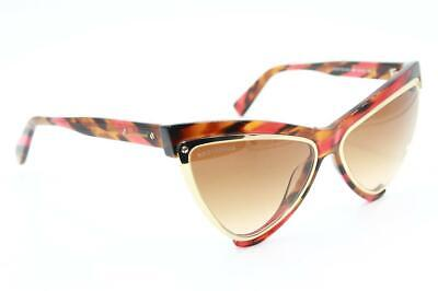 £56.02 • Buy Dsquared2 Dq 240 Nicki 68f Brown Gold Gradient Authentic Sunglasses  57-15