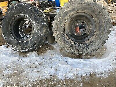 $550 • Buy MICHELIN 395/85/20 Military Tires. And. Dually  Rims