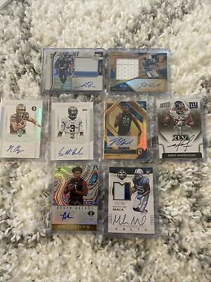 $ CDN2.86 • Buy Panini 8 Card Auto Lot AJ Brown RC Marlon Mack RC Paris Campbell RC