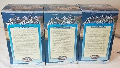 $ CDN73.08 • Buy 3 Budweiser Animals Of The 7 Continents Series Australian Steins With COA