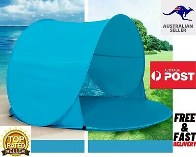 AU28.94 • Buy Mountview Pop Up Tent-Camping Beach Tents-3 Person-Portable Hiking Shade Shelter