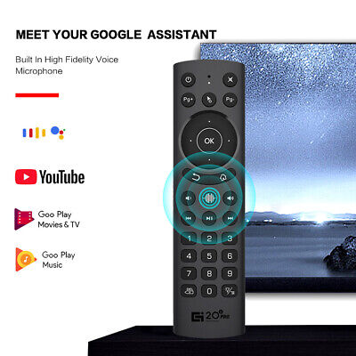 AU18.79 • Buy G20S PRO2.4G Wireless Voice Fly Mouse Remote Control For PC Smart TV Set Top Box