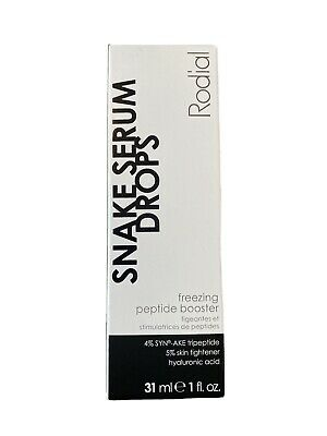 £40 • Buy Rodial Snake Serum Drops Treat Facial Lines, Laugh Lines... Rrp£75 New
