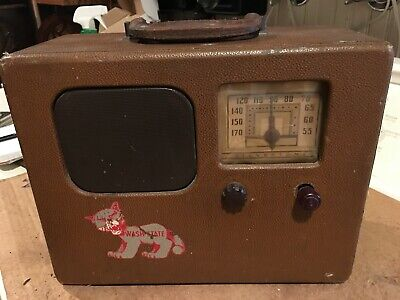 $ CDN63.44 • Buy  Vintage Radio Silvertone Model 6911 - 110-417 , Portable  Used