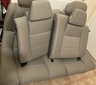 $200 • Buy 2011 2012 2014 2014 Ford Mustang Coupe OEM Cloth Tan Back Rear Seats 05+ Fit
