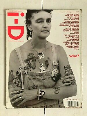 I-D MAGAZINE No 173 MARCH 1998 KATE MOSS FEATURE - The Ego Issue • 8£