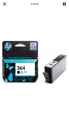 HP 364 Black Cartridge/Free Postage • 7.95£