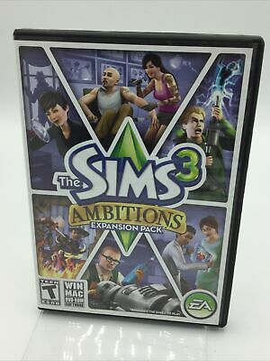 £7.07 • Buy ✅ The Sims 3 - Ambitions Expansion Pack + Manual (2010) MAC/WIN PC