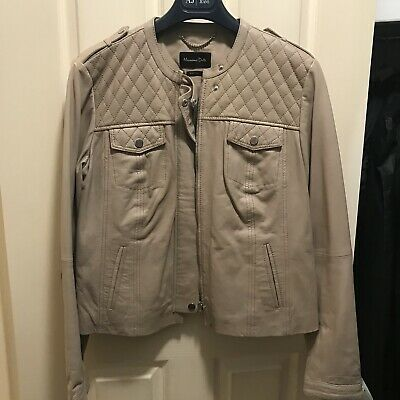 AU350 • Buy Massimo Dutti Leather Jacket
