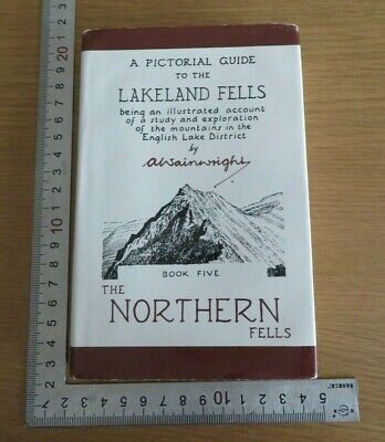 Pictorial Guide To The Lakeland Fells Northern Fells A Wainwright Hardback • 5.50£