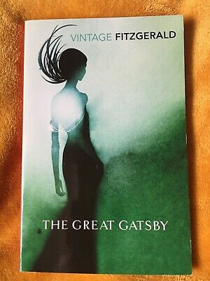The Great Gatsby Book Vintage Classic Edition Great Condition • 0.99£