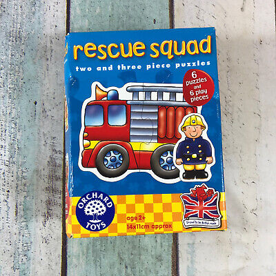 £5.99 • Buy Orchard Toys Jigsaw Puzzle - Rescue Squad - Complete