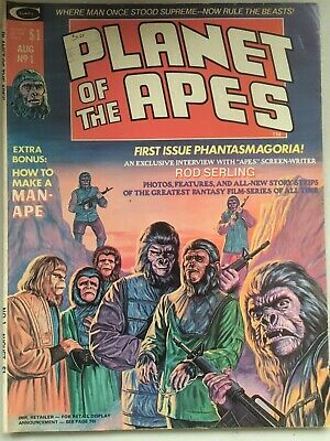 Planet Of The Apes #1 Comic, 1974+, Curtis/marvel Comics • 19£