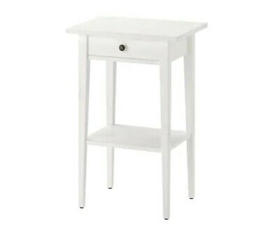 IKEA Hemnes Side Table, White 54 CM Night Table • 65.37£